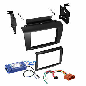 Car Radio Stereo Double Din Dash Kit Harness Interface For 2008 2009 Mazda 3
