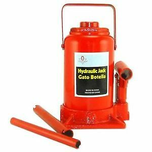50 Ton Hydraulic Bottle Jack Heavy Duty Truck Shop Equipment Automotive Tools