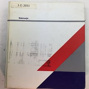 Tektronix Tds 520a 524a 540a 544a Oscilloscopes Service Manual 070 8713 03