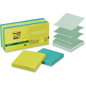 Post it reg Super Sticky Adhesive Note R330 10sst