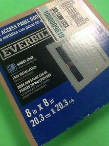 Everbilt Metal Access Panel Door With Frame Close To 9 5 8 Square