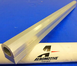 Aeromotive Fuel System 14107 Fuel Rail Kit Extrusion 17 750 Length 5 8 Id