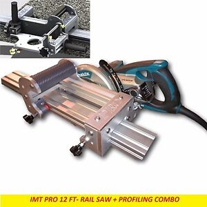Imt Pro Wet Cutting Makita Motor Rail Saw Edge Profile For Granite 12 Ft Rail