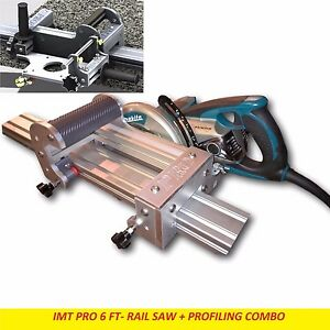 Imt Pro Wet Cutting Makita Motor Rail Saw Edge Profile For Granite 6 Ft Rail