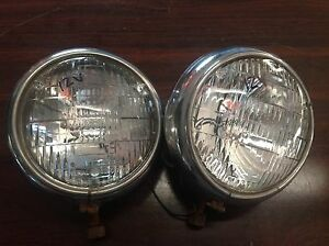 Lqqk Vintage Fog Driving Light Lamp Auto Lamp Model 10 12volt Pair Truck