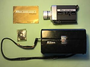 super 8 film camera nikon super zoom 8