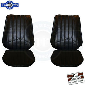 1971 1972 Monte Carlo Front Rear Seat Covers Upholstery Pui New