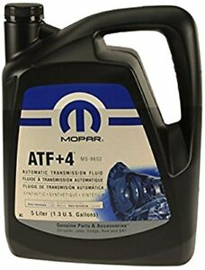 Mopar 68218058ac Atf 4 Automatic Transmission Fluid 1 3 Gallons
