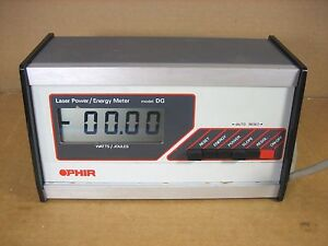 Ophir Model Dg Laser Power Energy Meter