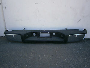 Dp40528 Chevy Silverado 1500 2007 2008 2009 2010 2012 Rear Chrome Bumper Oe