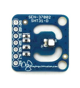 Sensirion Sht31 dis f Humidity And Temperature Sensor With Filter 2 4 5 5v