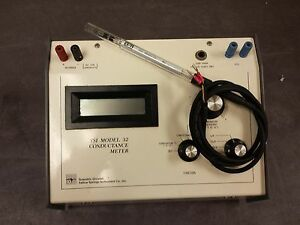 Ysi Model 32 Conductance Meter With Probe