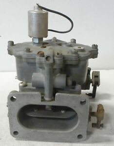 12354 Zenith 2 bbl Carburetor Military Surplus For Continental Engines