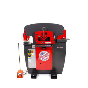 New Edwards 60 Ton Ironworker Iw60 3p230