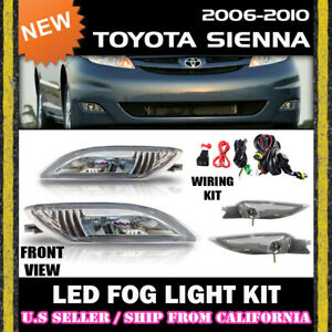 complete Fog Light Kit For 06 07 08 09 10 Toyota Sienna Led Switch Wiring
