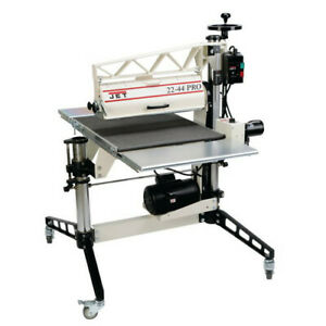 Jet 22 44 Pro 230v Variable speed 3hp 1ph Drum Sander W Dro 649600 New