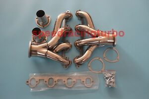 Ford Big Block 429 460 7 0l 7 5l Stainless Shorty Hugger Exhaust Headers
