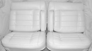 1975 1976 Cadillac El Dorado Front Rear Seat Covers Upholstery Pui New