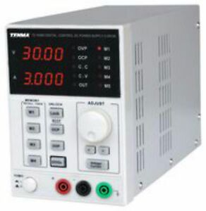 Bench Power Supply 0 30v 0 3a Led Display Single Output Fully Adjustable Lab Psu