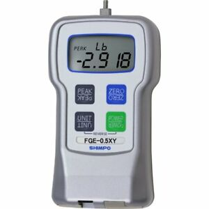 Shimpo Fge 2xy Digital Force Gauge With 180 Degree Reversible Display