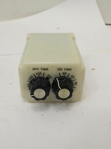 P B sullair Control Adjustable Recycle Timer Off on Crb 48 70180