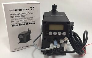 Grundfos Digital Dosing Pump 1 45 Gal hr 145 Psi 60 Hz Ddi 5 5 10
