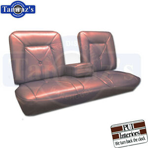 1965 Cadillac Deville Front Seat Covers Upholstery Pui New