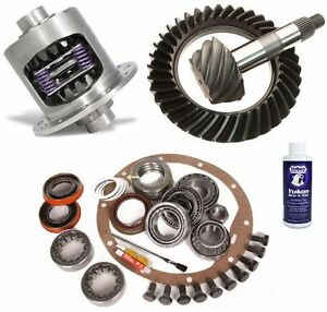Gm Chevy 12 Bolt Car Axle 4 10 Excel Ring And Pinion Duragrip Posi Gear Pkg