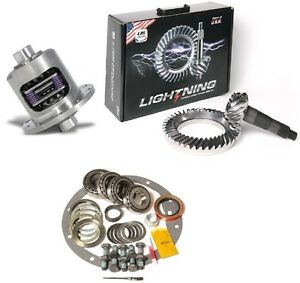 Chevy 12 Bolt Car 4 11 Isf Us Gear Lightning Ring And Pinion Duragrip Posi Pkg