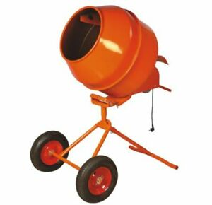 8 Cubic Portable Cement Concrete Mortar Mixer