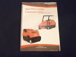 Powerboss T90 T82 C90 C82 Floor Scrubber Parts Book Manual With S n 1