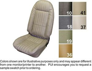 1973 74 Chevrolet Nova Custom Front Rear Seat Covers Buckets Or Bench Pui