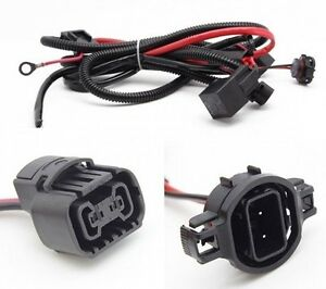 H16 5202 Xenon Hid Conversion Kit Relay Wiring Harness For Hid Fog Light Led Drl