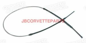 65 82 Corvette New Rear Parking Brake Cable