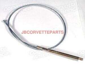67 82 Corvette New Front Parking Brake Cable X2481