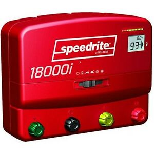 Speedrite Electric Fence Charger 18000i Unigizer New