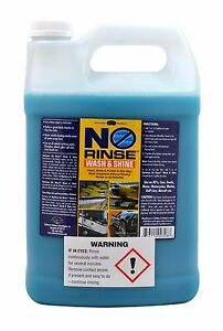 New Optimum No Rinse Wash Shine Onr 1 Gallon Factory Fresh