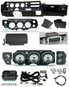 70 72 Chevelle Ss Dash Conversion Kit Dakota Digital Vhx 70c cvl Radio