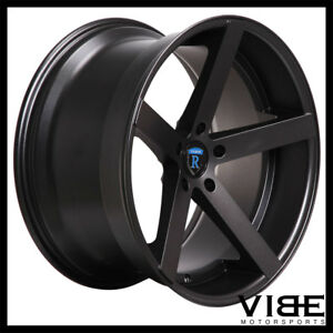 19 Rohana Rc22 Graphite Concave Wheels Rims Fits Ford Mustang Gt