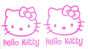 2 Hello Kitty Vinyl Decals Sticker Buy 2 Sets Get 1 Set Free Automatically