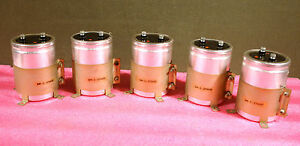 General Electric Sm c 379660 Capacitor Large Can Electrolytic Al W Clamp 5 Pk