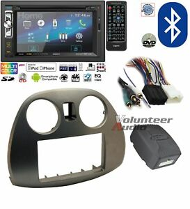 Axxera 6 2 Double Din Dvd Bluetooth Mp3 Usb Aux 200w Radio Install Kit Harness