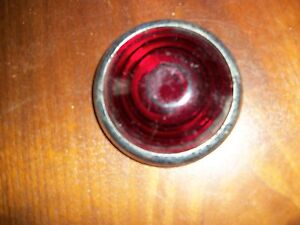 Vintage Tail Light Lamp Lens Bezel Car Truck Motorcycle 3 1 4