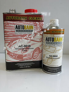 Ac 9016 Universal Urethane Automotive Clear Coat Auto Restoration Paint Kit