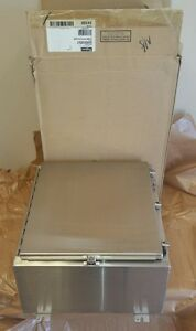 new In Box Hoffman A24h2010sslp Stainless Steel Enclosure 24 X 20 X 10
