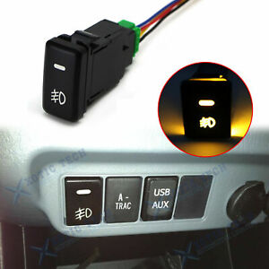 Universal Relay Harness Wire Kit Led On Off Switch For Fog Lights Hid Worklamp