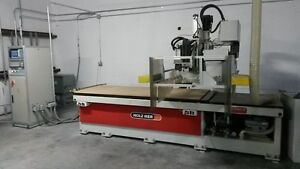 Cosmec Sa25 Flatbed Cnc Router Machining Center Milling Nested Based