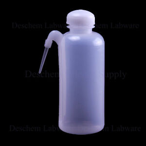 500ml new Plastic Washing Bottle With Side Tube lab Chemistry Plasticware