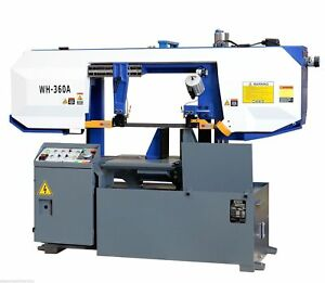 Eisen Wh 360a Heavy Duty Column Type Bandsaw 14 Capacity 5hp Motor Semi auto