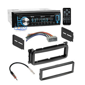 Boss Bluetooth Car Radio Stereo Dash Kit Harness For 2002 Chrysler Dodge Jeep